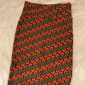 LuLaRoe Cassie Pencil Skirt-Size S